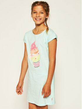 Billieblush Billieblush Marškinėliai U12568 Mėlyna Regular Fit