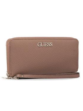 Guess Guess Nagy női pénztárca Alby (VG) SLG SWVG74 55460 Barna