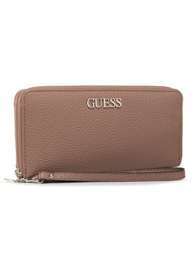 Guess Guess Portefeuille femme grand format Alby (VG) SLG SWVG74 55460 Marron