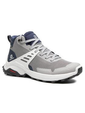 Salomon Salomon Trekingová obuv X Raise Mid Gtx GORE-TEX 410266 28 V0 Sivá