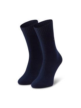 Tommy Hilfiger Tommy Hilfiger Vysoké dámske ponožky 100001311 Tmavomodrá