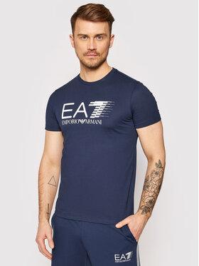 EA7 Emporio Armani EA7 Emporio Armani T-shirt 3KPT39 PJ02Z 1554 Tamnoplava Regular Fit