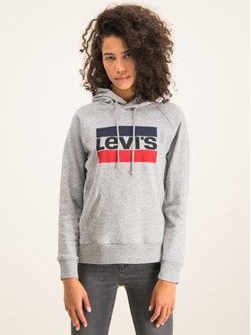 Levi's® Levi's® Mikina Graphic Sport 35946-0000 Šedá Regular Fit