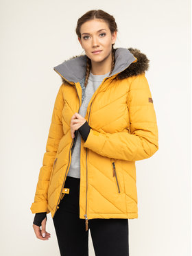 Roxy Snowboardová bunda Quinn ERJTJ03227 Žltá Tailored Fit