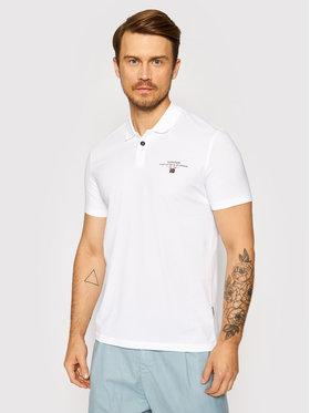 Napapijri Napapijri Polo marškinėliai Elli 1 NP0A4F9P Balta Regular Fit