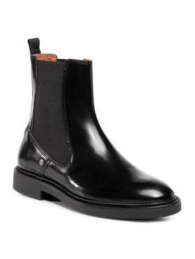 G-Star Raw G-Star Raw Kotníková obuv s elastickým prvkem Corbel Chelsea Boot D18093-9389-990 Černá