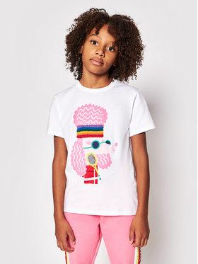 Little Marc Jacobs Little Marc Jacobs Tricou W15552 S Alb Regular Fit
