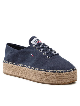 Tommy Jeans Tommy Jeans Εσπαντρίγιες Essential Flatform Espadrille EN0EN01434 Σκούρο μπλε