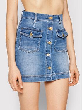 Elisabetta Franchi Elisabetta Franchi Jeans suknja GJ-12S-11E2-V280 Tamnoplava Slim Fit