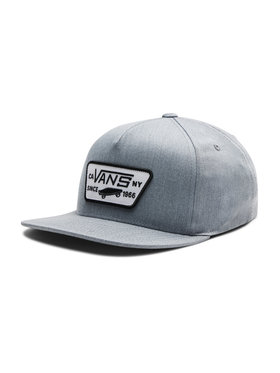 Vans Vans Καπέλο Jockey Full Patch Snapback VN000U8GHTG1 Γκρι