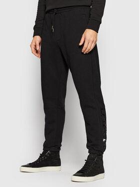 La Martina La Martina Teplákové kalhoty SMT301 FP529 Černá Regular Fit