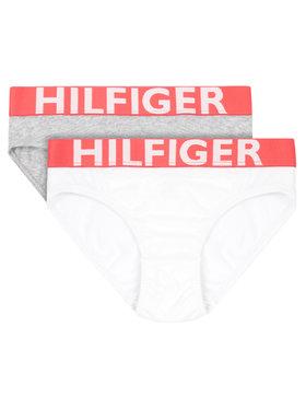 Tommy Hilfiger Tommy Hilfiger Komplet 2 par fig 2P Bikini UW0UW00216 Szary Regular Fit