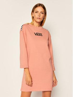 Vans Vans Úpletové šaty Chromo II VN0A47YG Ružová Regular Fit