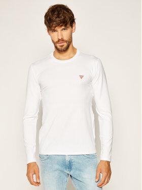 Guess Guess Marškinėliai ilgomis rankovėmis Core Tee M0YI28 J1300 Balta Slim Fit