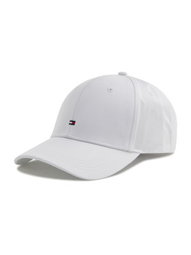 Tommy Hilfiger Tommy Hilfiger Casquette Bb Cap AW0AW09807 Blanc