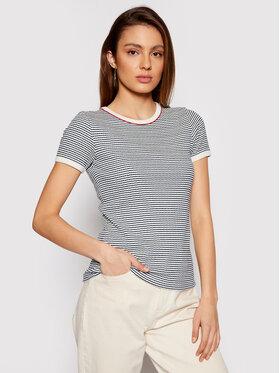 Lee Lee T-Shirt Striped Ribbed L44SPFLR Barevná Slim Fit