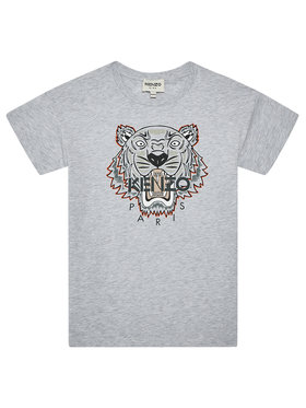 Kenzo Kids Kenzo Kids Tričko K25113 S Sivá Regular Fit