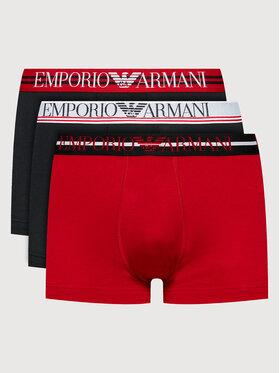 Emporio Armani Underwear Emporio Armani Underwear Set 3 perechi de boxeri 111357 1A723 07921 Negru