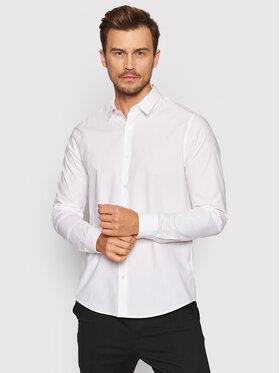 Calvin Klein Jeans Calvin Klein Jeans Πουκάμισο J30J319065 Λευκό Slim Fit