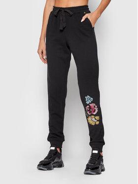 Blugirl Blumarine Blugirl Blumarine Spodnie dresowe RH1080-F0847 Czarny Regular Fit