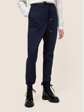 Hugo Hugo Pantalon en tissu Honesi 50439199 Bleu marine Regular Fit