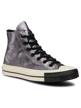 Converse Converse Sneakers aus Stoff Chuck 70 Hi 165049C Silberfarben