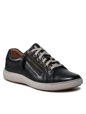 Clarks Clarks Sneakersy Nalle Lace 261591244 Czarny