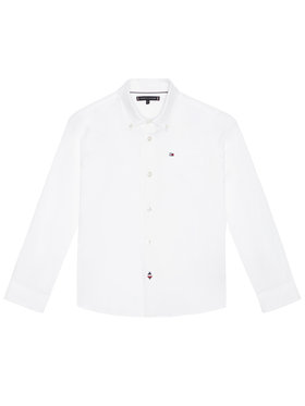Tommy Hilfiger Tommy Hilfiger Cămașă Essential Oxford KB0KB06127 D Alb Regular Fit