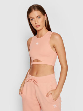 adidas adidas Σουτιέν τοπ adicolor Essentials H20361 Ροζ