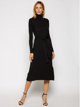 MAX&Co. MAX&Co. Φόρεμα υφασμάτινο Certosa 73249220 Μαύρο Regular Fit