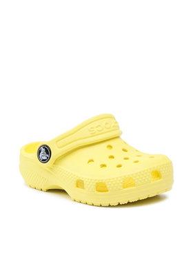 Crocs Crocs Șlapi Classic Clog K 204536 Galben