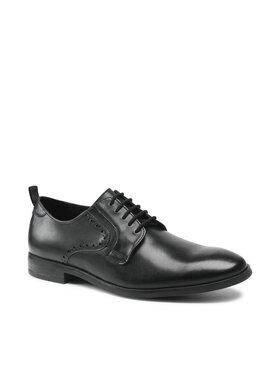 Clarks Clarks Обувки Stanford Lace 261612557 Черен
