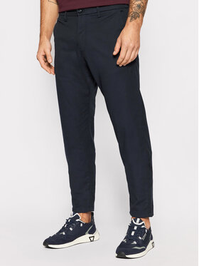 Selected Homme Selected Homme Spodnie materiałowe York 16081374 Granatowy Slim Fit