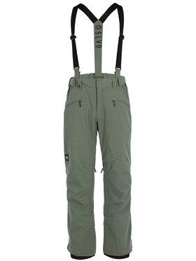 Quiksilver Snowboardové nohavice Boundry Plus EQYTP03114 Zelená Modern Fit