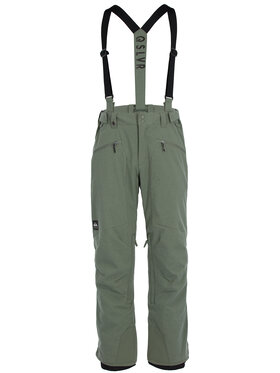 Quiksilver Quiksilver Spodnie snowboardowe Boundry Plus EQYTP03114 Zielony Modern Fit