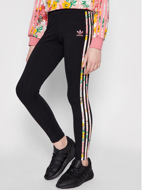 adidas adidas Leggings HER Studio London Floral GN4219 Noir Slim Fit