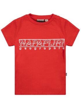 Napapijri Napapijri T-shirt K Soli Ss Sum NP0A4EG5R Rosso Regular Fit