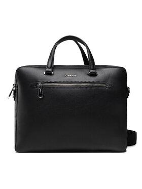 Calvin Klein Calvin Klein Nešiojamo kompiuterio krepšys Minimalism Slim Laptop Bag K50K507330 Juoda