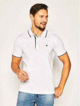 Pierre Cardin Pierre Cardin Polo marškinėliai 52114/000/1225 Balta Modern Fit