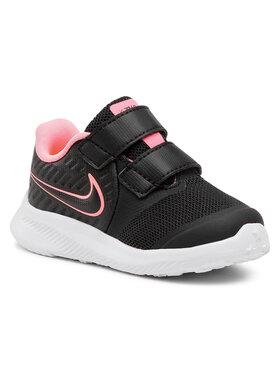 Nike Nike Boty Star Runner 2 (TDV) AT1803 002 Černá