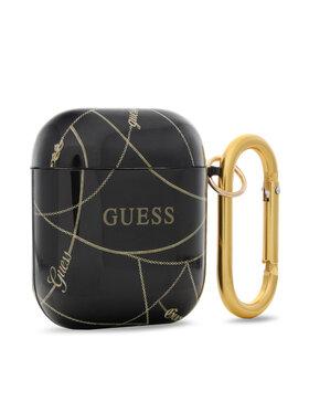 Guess Guess Pouzdro na sluchátká GUACA2TPUCHBK Černá