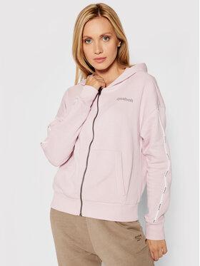 Reebok Reebok Bluza Piping Pack GS9345 Różowy Oversize