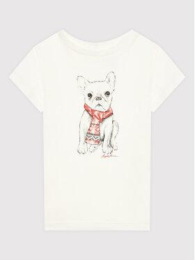 Polo Ralph Lauren Polo Ralph Lauren T-Shirt Holiday 310853363001 Beżowy Regular Fit