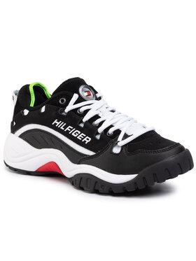Tommy Jeans Tommy Jeans Laisvalaikio batai Heritage Sneaker EM0EM00374 Juoda