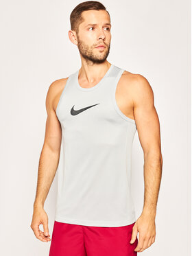 NIKE NIKE T-shirt technique Erkek Spor Atlet BV9387 Gris Regular Fit