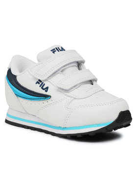 Fila Fila Sneakersy Orbit Velcro Infants 1011080.92E Biela