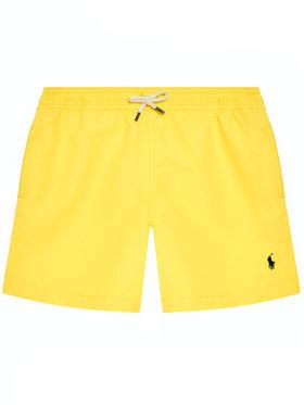 Polo Ralph Lauren Polo Ralph Lauren Pantaloni scurți pentru înot Traveler Sho 323785582014 Galben Regular Fit