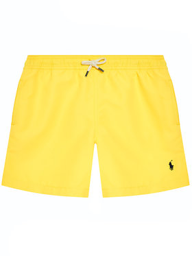 Polo Ralph Lauren Polo Ralph Lauren Plavecké šortky Traveler Sho 323785582014 Žlutá Regular Fit
