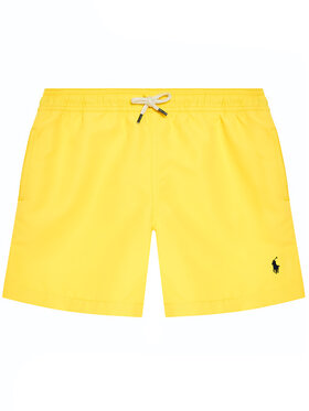 Polo Ralph Lauren Polo Ralph Lauren Плувни шорти Traveler Sho 323785582014 Жълт Regular Fit