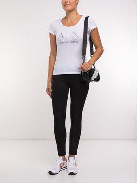 Armani Exchange Armani Exchange T-Shirt 8NYT83 YJ16Z 1000 Biały Regular Fit